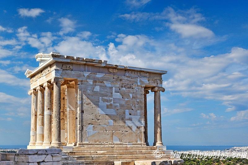 The Temple of Athena Nike, Greece