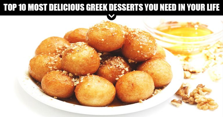 Top 10 Most Delicious Greek Desserts You Need In Your Life