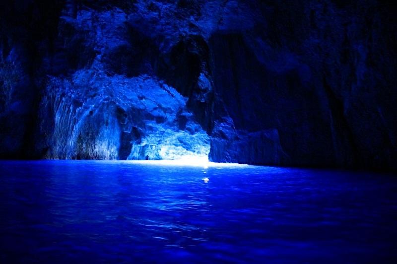 blue cave antalya