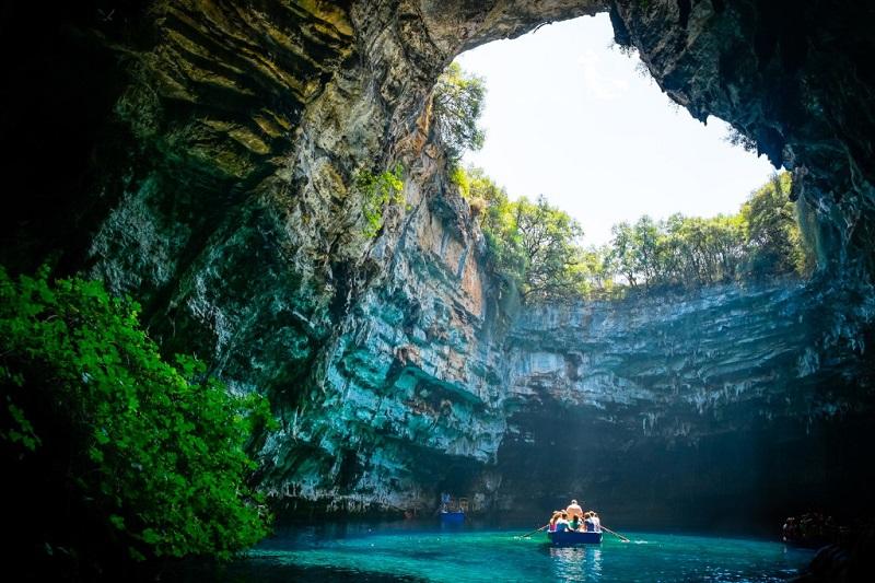 Melissani Cave. Kefalonia